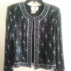 Gorgeouse beaded Daisy Jacket